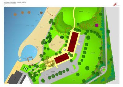 AutoCad design recreation beach Hoogeveen