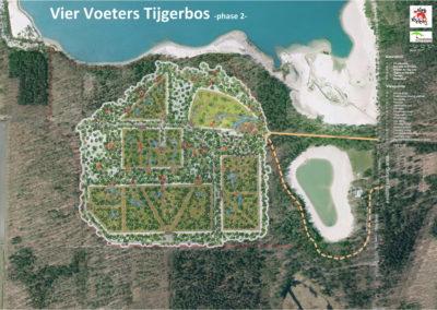 Sketch design Big Cat Shelter Felida