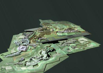 3D scan of Wildlands Adventure Zoo Emmen scale model