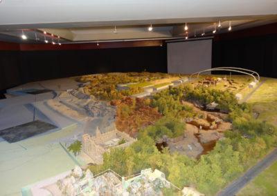 Finished scale model of Wildlands Adventure Zoo Emmen