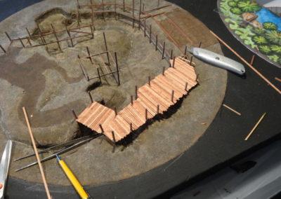 Building scale model of Cajundome