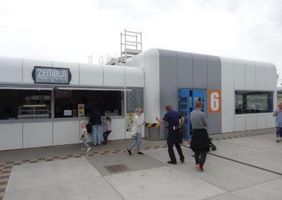 Artic research kiosk