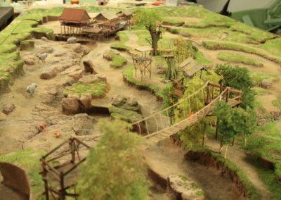 Elephant enclosure greenhouse Wildlands Adventure Zoo Emmen