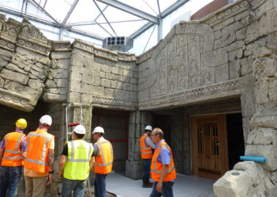 Art direction during Building phase 3
