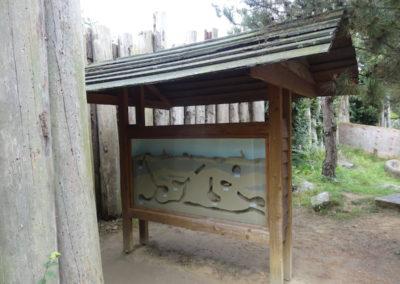Scale model Prairydogs habitat Emmen Zoo